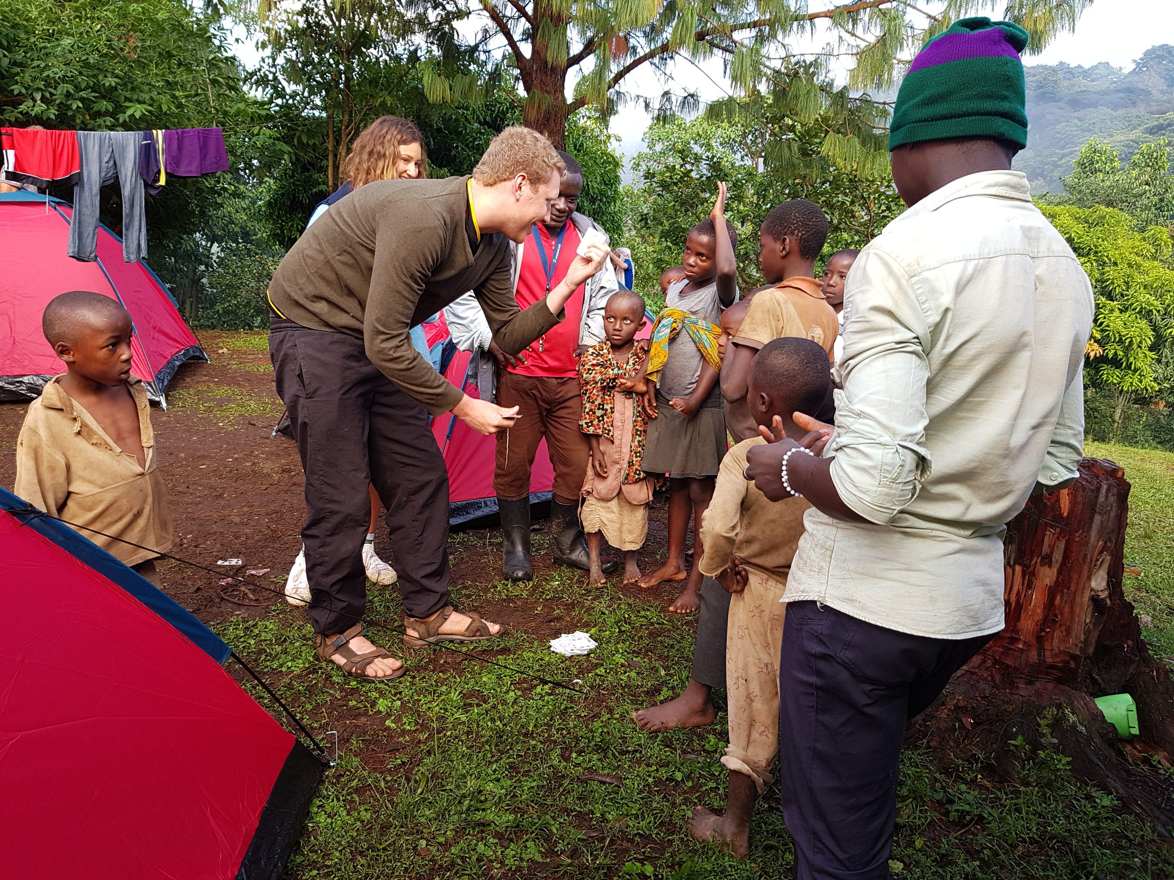 Camping at Bwindi Uganda