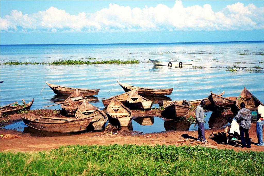 Fishermen Entebbe Uganda