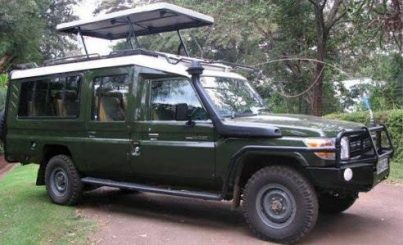 rent car Uganda Toyota Land Cruiser