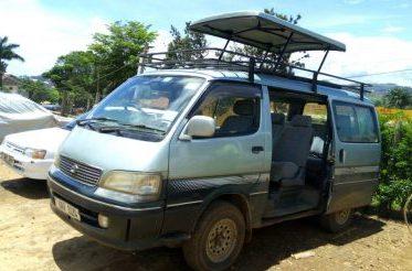 Rent car Uganda Toyota SuperCustom Safari