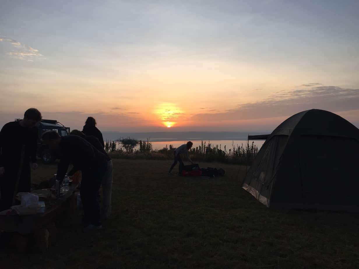 Akagera National park camping