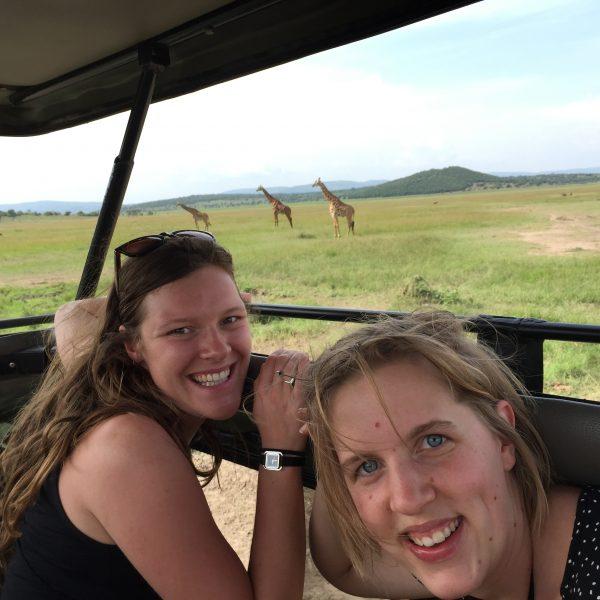 Akagera National park giraf