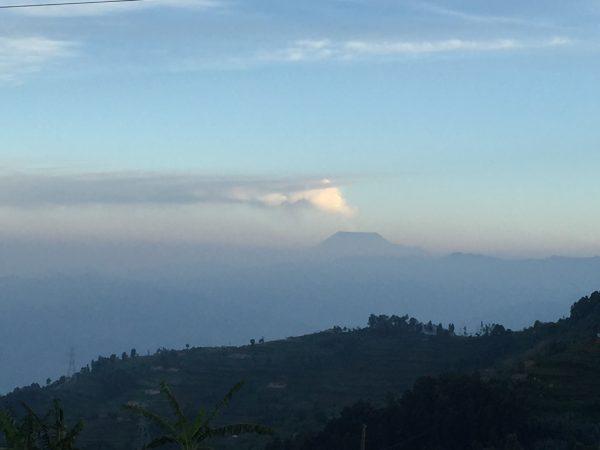 Congo Nile Trail vulcano