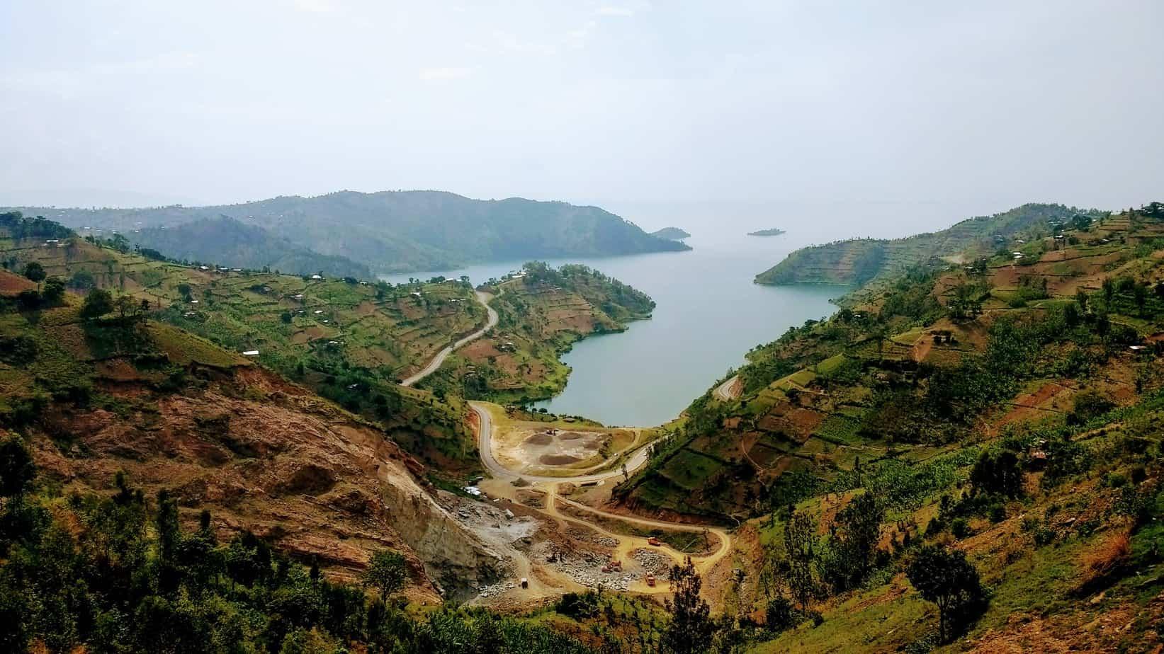 Congo Nile Trail view