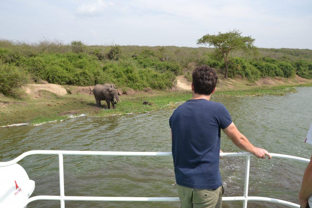 Queen Elizabeth boat trip Uganda